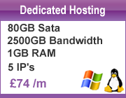 Dedicated Web Hosting Company