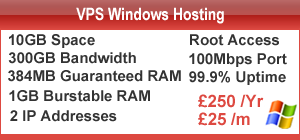 VPS Cheap Windows Hosting UK